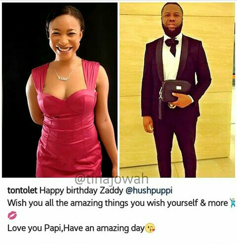 new style 07b9f f54f6 Actress Tontoh Dike's fans are not happy about her birthday ...